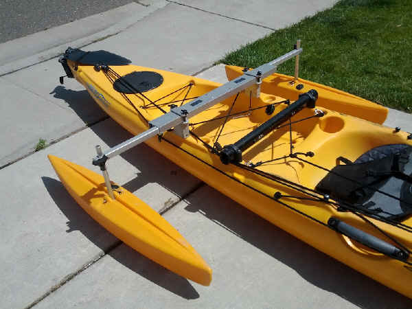 Best Kayak Stabilizers : Castlecraft kayak stabilizers and outriggers