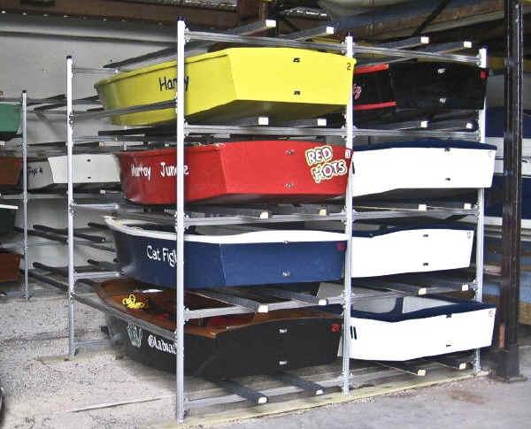 Castlecraft Trailex Storage Racks For Sailboats Boats
